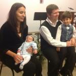 Поздравляем Анечку и Сергея Карас с рождением второго сына!