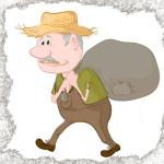 Старик с мешком